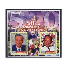 50th anniversary of DISNEYLAND Disney Mickey Mouse Cartoons s/s MNH #M0813