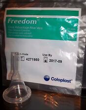 3 Condom Catheters 31mm FREEDOM CLEAR ADVANTAGE Ref #6300 Adhesive Coloplast