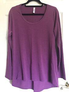 Lularoe Long Sleeve Lynnea Shirt Size Large