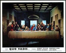 QUO VADIS 1951 Robert Taylor, Deborah Kerr, Leo Genn 10x8 LOBBY SET