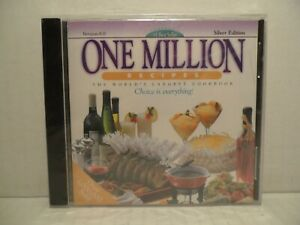 One Million Recipes The World's Largest Cookbook Version 6.0 Silver Edition CD-R
