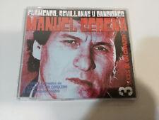 MANUEL GERENA FLAMENCO SEVILLANAS Y CANCIONES SINGLE 3 CANCIONES - CD