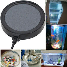 Aquarium Air Stone Disk Silent Oxygen Bubble Cutain Aerator for Fish Tank Ponds,