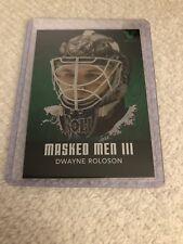 10/11 ITG BTP Masked Men 2 Dwayne Roloson Hockey Card #MM-17