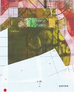Jerry's Map Original Panel N23/W8 Gen VI Collectible Generative Art!