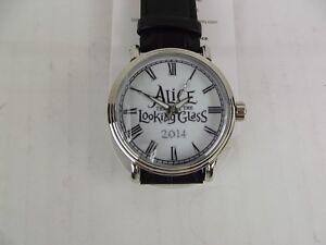 Disney lot Alice Looking Glass Watchfactory Zazzle Analog Watch Buckle Red Queen