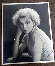 More details for greta nissen: autograph on fine 10x8 vintage photo