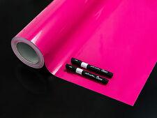 Reemara Tafelfolie Kreidefolie Wandsticker Pink + 2 Kreidemarker gratis