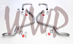 "Dual 2.50"" Header Back Exhaust Pipe Kit System No Muffler 59-64 Chevrolet Impala"