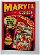 Marvel Mystery Comics #92 VG Comic Book Origin Of The Human Torch GOLDEN AGE JM1