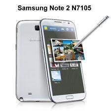 White Samsung Galaxy Note 2 II GT-N7105 -4G  LTE -  (Unlocked) Smartphone mobile