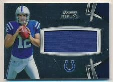 ANDREW LUCK 2012 Bowman Sterling JUMBO ROOKIE RELIC RC COLTS
