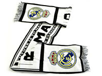 REAL MADRID  - HISTORY WOOLEN SCARF OFFICIAL LICENSED NEW
