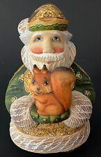 G. DeBrekht Forest Friendly Santa Figurine Gift Givers Series #886/1200 Squirrel