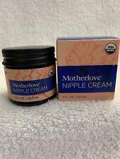 Motherlove Nipple Cream Organic & Pure Safe & Effective 1 Fl oz Exp 12/20