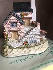 David Winter Cottages The Cobbler - No 7 w/ Original Box and Papers