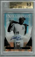 2011 JOSH BELL elite #P35 auto 64/100 BGS 9.5/10 (Super rare!) RBI leader!