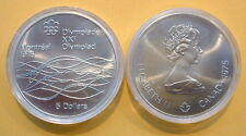 CANADA 1976 OLYMPIC $5 SILVER COIN *No 20**