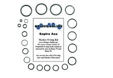 Empire Axe Paintball Marker O-ring Oring Kit x 2 rebuilds / kits