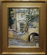 "Listed Artist, John N. Stewart, NWS,  Oil Painting - ""Gordes Tunnel"""