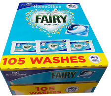Fairy Non-Bio Liquitabs Washing Detergent Tablets Capsules Pod 3 x 35 105 Pods