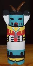 HOPI HUNTER CARVING GRACE POOLEY ROUTE 66 KACHINA CARVING HOPI FREE SHIP