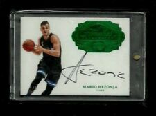 Mario Hezonja Flawless Autographs EMERALD #1/5! 1/1? Rare ON-CARD Auto! Magic SP