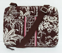 Vera Bradley Mini Imperial Toile Laptop/Tablet/iPad Hard Shell Case/Shoulder Bag