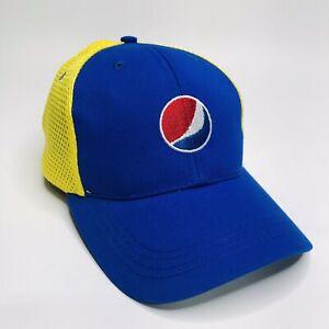Pepsi Cloth Mesh Adjustable Hat/Cap