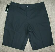 ADIDAS CLIMALITE STRETCH BLACK CASUAL GOLF SHORTS-MENS SIZE 34-NWT'S!