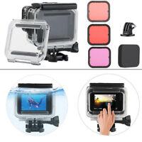 45M Underwater Waterproof Housing Case + Dive Filter Kit for GoPro Hero5 6 Black