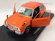Honda Civic RS (1974) 1:24 Diecast Scale Model Miniature Car Orange IXO