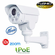 1080P 2MP 10XOptical Zoom IP66 IR Bullet PTZ Camera With TFK Slot and Bracket