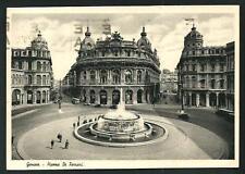 Genova - Piazza De Ferrari - cartolina viaggiata nel 1939 per Castelceriolo (AL)