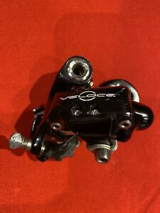 Campagnolo Veloce rear derailleur mech Black 10 Speed short cage road bike