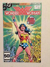 Wonder Woman #329 Vf- Last Bronze Age Issue