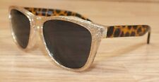 Genuine Place Ages 4-7 Girl's Gold Tone Sparkly & Cheetah Print Sunglasses