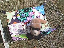 "Ferret Patch Quilt Dream Hammock #1 - 13"" x 13"""