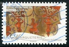 TIMBRE FRANCE AUTOADHESIF OBLITERE N° 257 / METIERS D'ARTS / MARQUETERIE