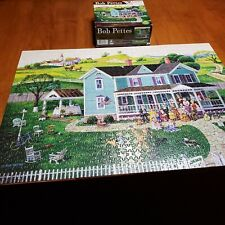 "Jigsaw Puzzle 2112 ""Family Reunion"" The Art of Bob Petes 1000 pc"