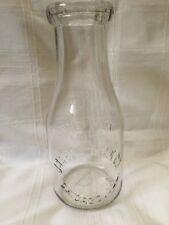 Old Vintage Pint Milk Bottle Jarosz Milk Company Chicago Illinois In 1946