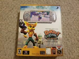 Sony PSP 3001 Ratchet & Clank Limited Edition Handheld Console-Complete In Box