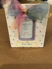 """One Year"" by Frame Papel Giftware  5.5'' x 4.5'' Picture Frame, Picture Size 2'"