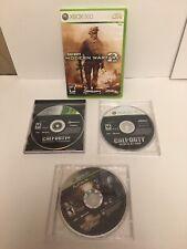 Xbox 360 Call Of Duty 4/modern Warfare2/world At War/ Mortal Combat vs. DC