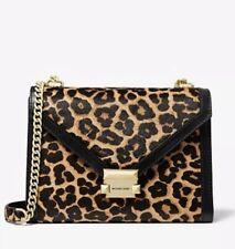 Michael Kors Whitney Large Leopard Convertible Shoulder Bag NWT $398