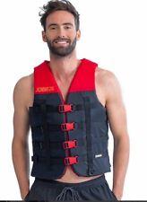 Jobe Dual Nylon Vest red Schwimmweste Bootsweste Wasserski