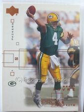 Brett Favre - 2001 Upper Deck Pros and Prospects #64 - Green Bay Packers