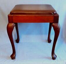 Original Vintage Queen Anne Singer Sewing Machine Stool
