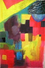 GEOMETRIC ABSTRACT ART NIGEL WATERS LARGE SCALE INSPIRED BY DAMIEN HIRST