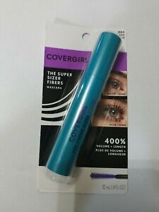 Covergirl The Super Sizer Fibers Mascara Very Black #800 B38